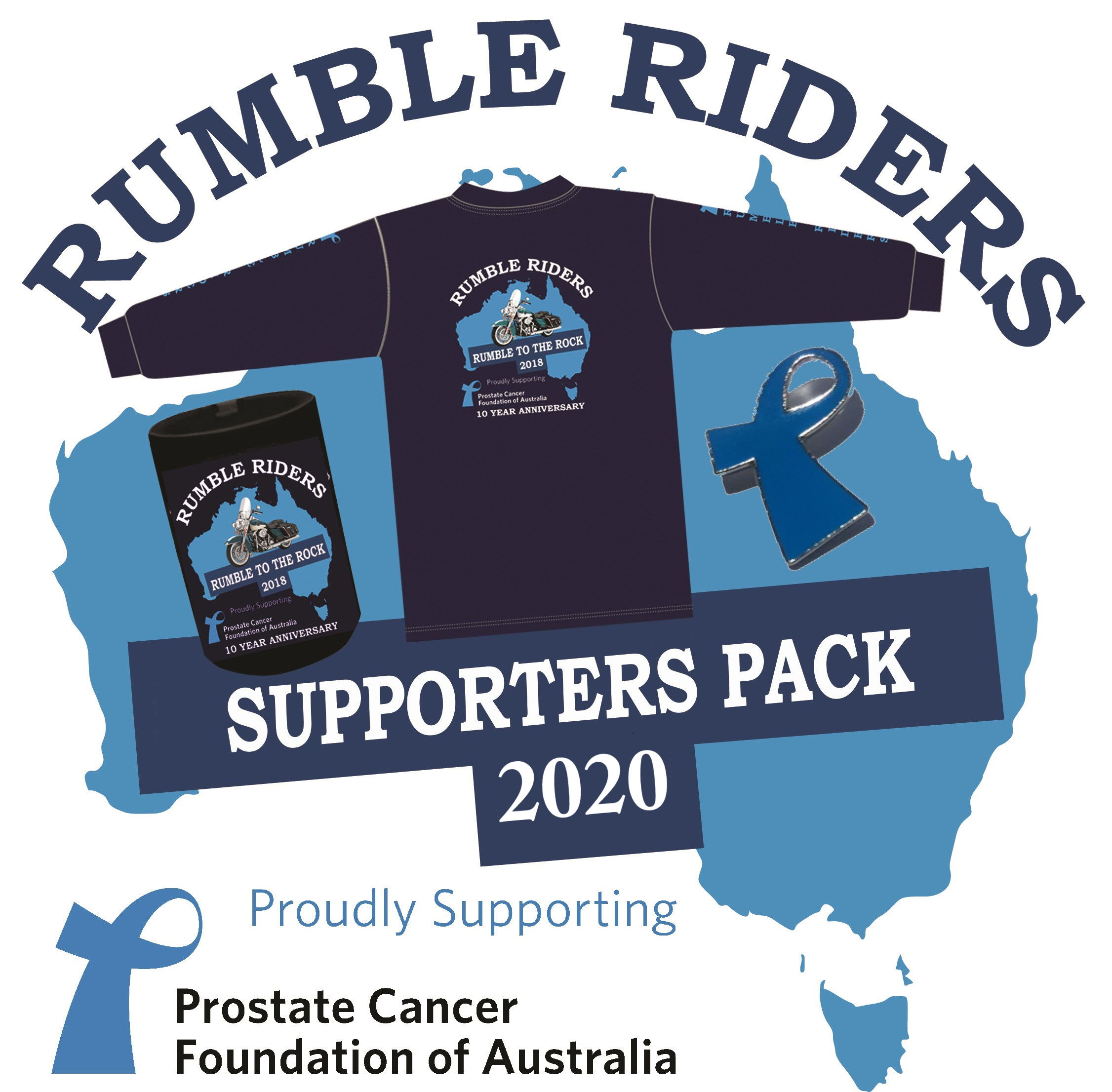 Rumble To The Rock 2018 Supporter Pack